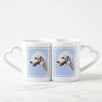 Bedlington Terrier Coffee Mug Set