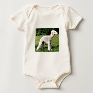 Bedlington Terrier Dog Baby Bodysuit