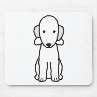 Bedlington Terrier Dog Cartoon Mouse Pad
