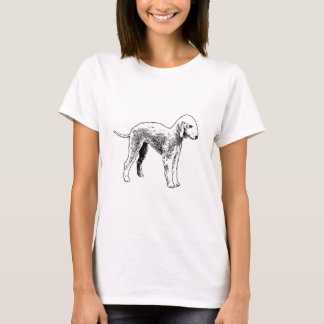 Bedlington_terrier drawing.png T-Shirt