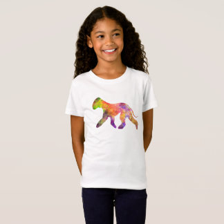 Bedlington Terrier in watercolor 2 T-Shirt