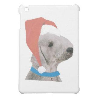 Bedlington Terrier Santa Hat iPad Mini Cases