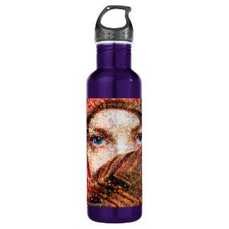 Bedouin woman-bedouin girl-eye collage-eyes-girl 710 ml water bottle