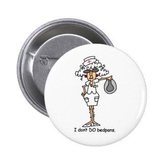 Bedpans! 6 Cm Round Badge