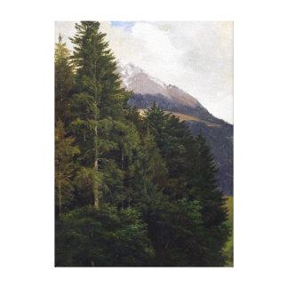 Bedřich Havránek From Unterstein near Königssee Canvas Print