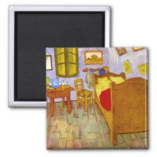 Bedroom at Arles by Vincent Willem van Gogh Magnet