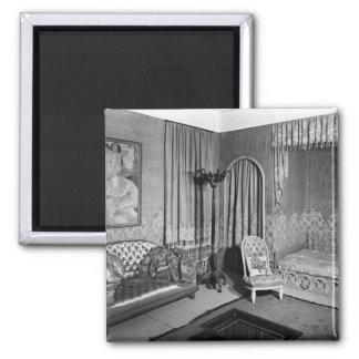 Bedroom belonging to Jeanne Lanvin  c.1920-25 Refrigerator Magnet