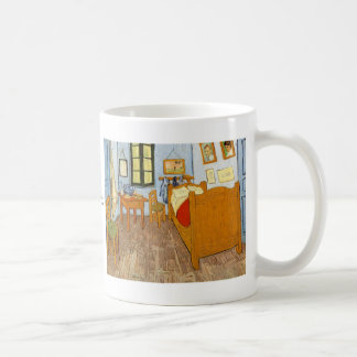 Bedroom in Arles by Vincent van Gogh Basic White Mug