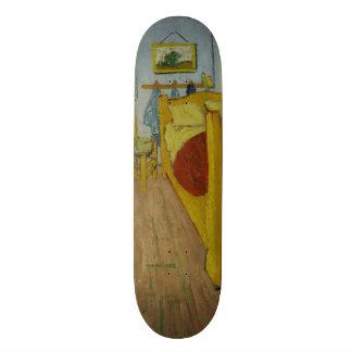 Bedroom in Arles by Vincent Van Gogh Skate Board