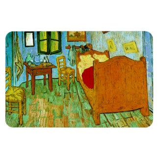 Bedroom in Arles (F484)Van Gogh Fine Art Rectangular Photo Magnet
