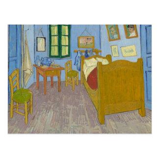 Bedroom in Arles, Vincent Van Gogh Postcard