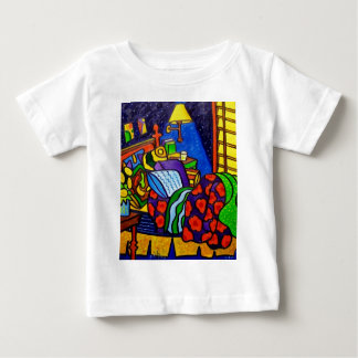 Bedroom in Color Tee Shirts