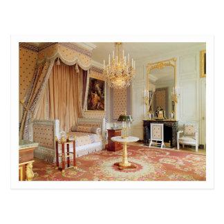 Bedroom in the Grand Trianon (photo) Postcard