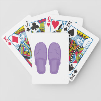 Bedroom Slippers Bicycle Playing Cards