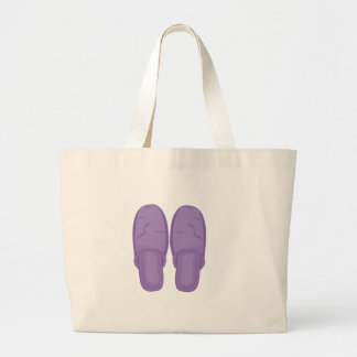 Bedroom Slippers Large Tote Bag