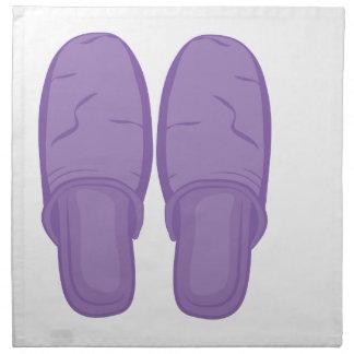 Bedroom Slippers Napkin
