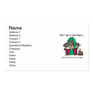 Bedtime Humor Pack Of Standard Business Cards
