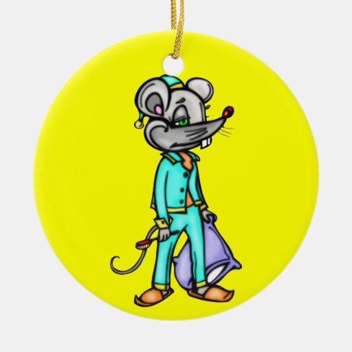 Bedtime Mouse Ornaments