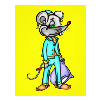 Bedtime Mouse Full Color Flyer