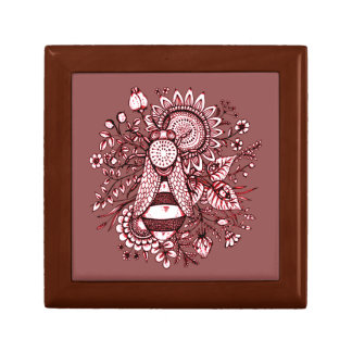 Bee 2 small square gift box