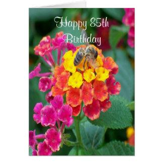 Bee 85th Birthday Card