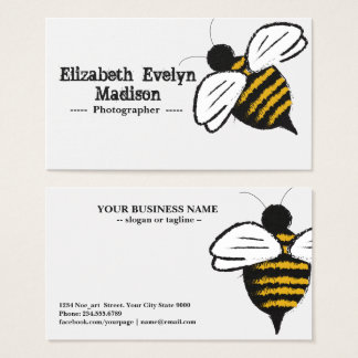 Bee 876 business card