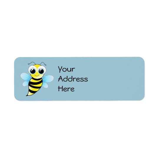 Bee Address Labels