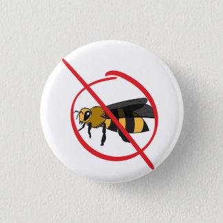 Bee Allergy 3 Cm Round Badge