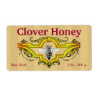 Bee and Clover Personalised Honey Jar