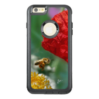 Bee and Poppy Cell Phone Case