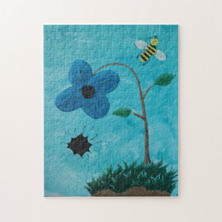 Bee and the Black Hole Jigsaw Puzzle