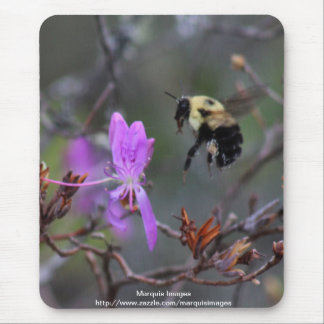 Bee and Wildflower Mousepads