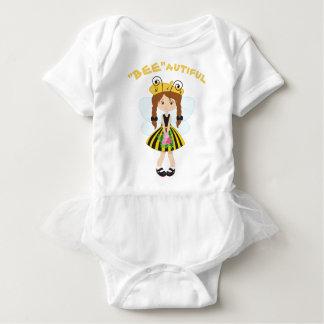 """BEE""autiful Tutu Jumper Baby Bodysuit"