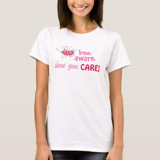 Bee Aware - Find a Cure - Customizable T-shirt