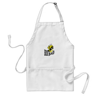 bee bad mean standard apron