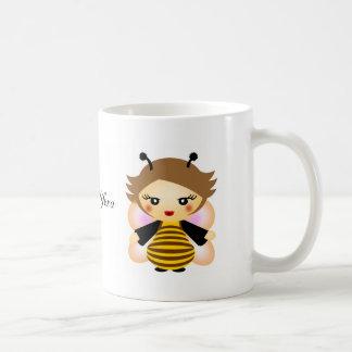 Bee Basic White Mug