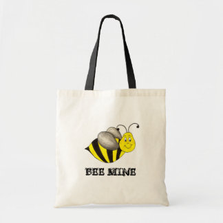 Bee (Be) Mine Yellow Bumblebee Valentine's Day Bag