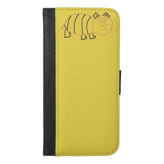 Bee Bear iPhone 6/6s Plus Wallet Case