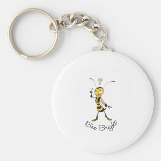 Bee Bright Key Chains