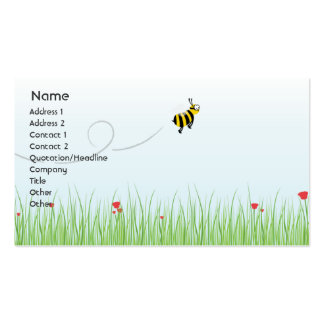 Bee - Business Pack Of Standard Business Cards