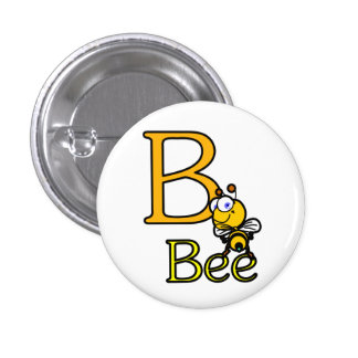 Bee Button Pinback Button