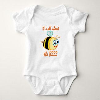 Bee Bzzz Baby Bodysuit