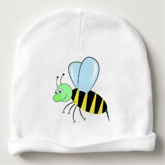 bee cartoon beautiful illustration baby beanie