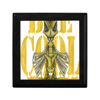 Bee Cool Small Square Gift Box