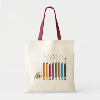 Bee Creative Tote Bag