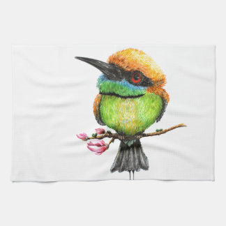 Bee Eater Hand Towels