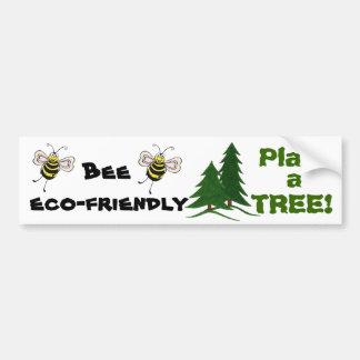Bee Eco-friendly - Bumper Sticker