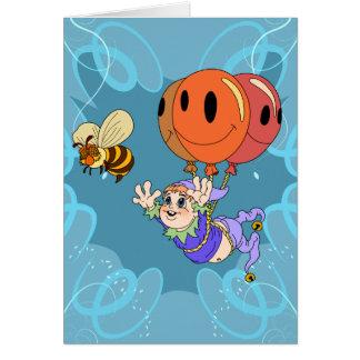 Bee Elf Card