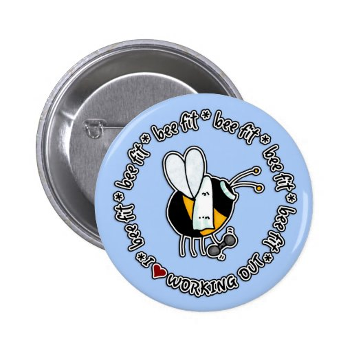bee fit - working out button