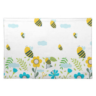 Bee Flying Placemat
